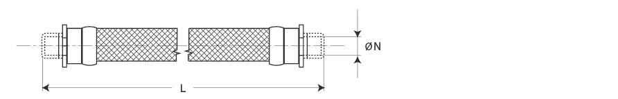 Гибкий армированный шланг серии TFII