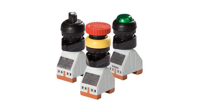 Элементы управления и сигнализации Ex de IICU серии ЭП для постов управления