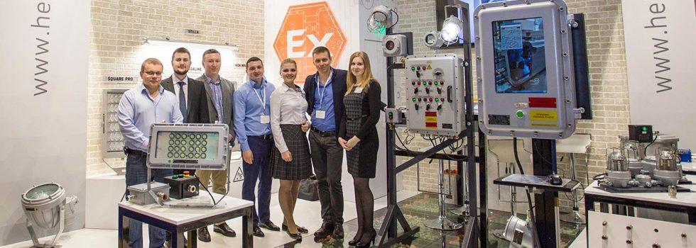 Компания HELEX на выставке «Электро и Нефтегаз — 2017», г. Москва