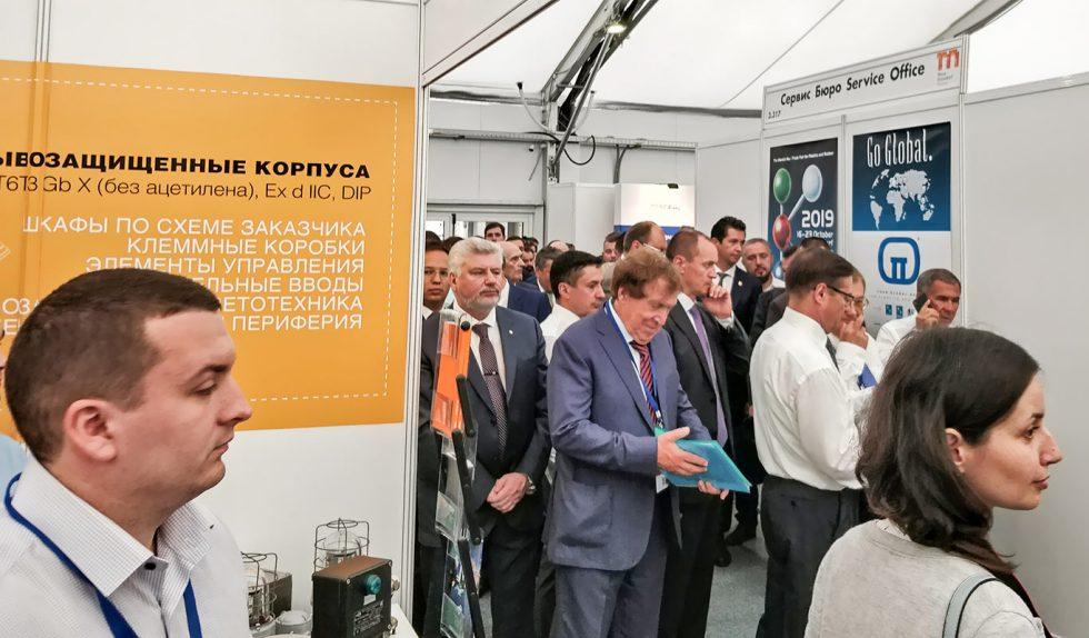 Компания HELEX приняла участие в выставке «Нефть, газ. Нефтехимия — 2018», г. Казань