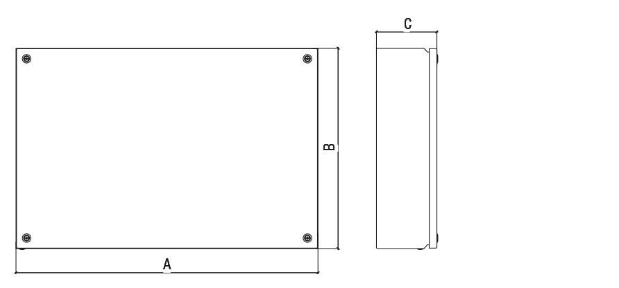 Габаритные размеры и вес клеммных коробок серии КНВ-У