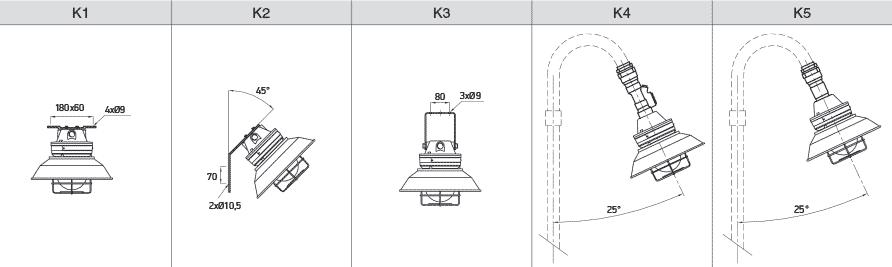 Светодиодные светильники серии Гелекс