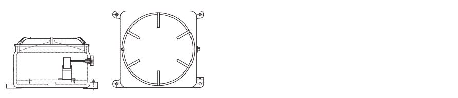 Щиты для систем управления и сигнализации УНВ(С)-ЩУ с резьбовым соединением