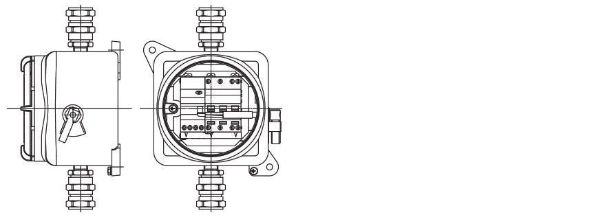 Устройство дифференциальной защиты УНВ(С)-ДЗ с резьбовым соединением